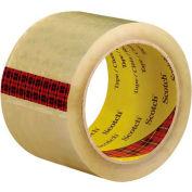 "3M 3743 Carton Sealing Tape 3"" x 55 Yds 2.6 Mil Clear  - Pkg Qty 6"
