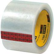 "3M 375 Carton Sealing Tape 3"" x 55 Yds 3.1 Mil Clear  - Pkg Qty 6"