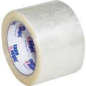 "Carton Sealing Tape 3"" x 110 Yds 1.6 Mil Clear - Pkg Qty 6"