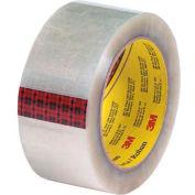 "3M 313 Carton Sealing Tape 2"" x 110 Yds 2.5 Mil Clear  - Pkg Qty 6"