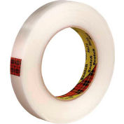 "3M 8651 Strapping Tape 3/4"" x 60 Yds 5.6 Mil Clear  - Pkg Qty 12"