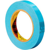 """3M 8896 Strapping Tape 3/4"""" x 60 Yds 4.6 Mil Blue  - Pkg Qty 12"""