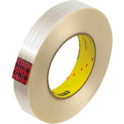 """3M 890MSR Strapping Tape 1"""" x 60 Yds 8 Mil Clear  - Pkg Qty 12"""