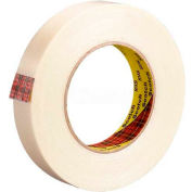 """3M™ Scotch® 898 Strapping Tape 1"""" x 60 Yds. 6.4 Mil Clear - Pkg Qty 6"""