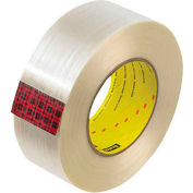 """3M 890MSR Strapping Tape 2"""" x 60 Yds 8 Mil Clear  - Pkg Qty 12"""