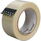 "3M™ Tartan™ 8932 Strapping Tape 2"" x 60 Yds. 3.75 Mil Clear - Pkg Qty 12"