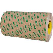 """3M 468MP Adhesive Transfer Tape Hand Rolls 12"""" x 60 Yds 5 Mil Clear"""