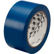 "3M™ 764 Vinyl Tape 2"" x 36 Yds 5 Mil Blue - 6/PACK"