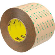 """3M 9472LE Adhesive Transfer Tape Hand Rolls 4"""" x 60 Yds 5 Mil Clear  - Pkg Qty 2"""