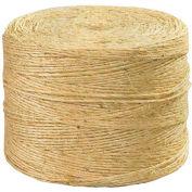 Sisal Twine, 1 Ply, 3000'L, 190 Lbs. Tensile Strength, Natural