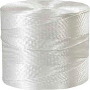 Polypropylene Tying Twine, 1 Ply, 8500'L, 145 Lbs. Tensile Strength, White