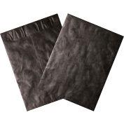 "Tyvek® Self-Seal Colored Envelopes, End Opening, 12"" x 15-1/2"", Black, 100 Pack"
