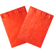 """Tyvek® Self-Seal Colored Envelopes, End Opening, 12"""" x 15-1/2"""", Red, 100 Pack"""