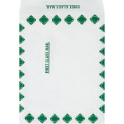 """Tyvek® Self-Seal Expandable Envelopes, 10"""" x 13"""" x 1-1/2"""", First Class, 100 Pack"""