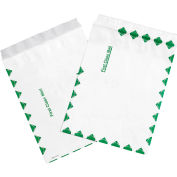 """Tyvek® Self-Seal Flat Envelopes, End Opening, 9"""" x 12"""", First Class, 100 Pack"""