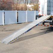 "Bustin Gladiator™ Aluminum Walk Ramp GLH110 - 10'L x 25""W 1000 Cap. Lb."
