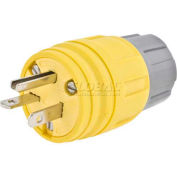 Bryant 14W48BRY Watertight Plug,NEMA 6-20P, 20A/ 250V