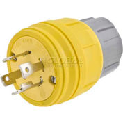 Bryant 26W48BRY Watertight Plug, NEMA L6-20P, 20A,250V
