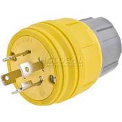Bryant 28W77BRY Watertight Plug, NEMA L17-30P,30A/600V, 3PH