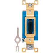 Bryant 4801L Industrial Grade Toggle Switch, Single Pole, 15A, 120/277V AC
