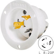 Bryant 70820MB TECHSPEC® Base, L8-20, 20A, 480V AC, White