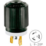 Bryant 70920NP TECHSPEC® Plug, L9-20, 20A, 600V AC, Black/White