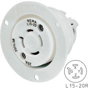 Bryant 71520MB TECHSPEC® Base, L15-20, 20A, 3ph 250V AC, White