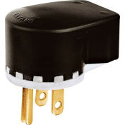 Bryant 8395T TECHSPEC® Straight Blade Plug, 20A, 125V, Clear
