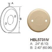 Bryant HBL5731IV Round Blank Cover, Ivory