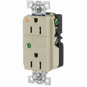 Bryant SP52IA Industrial/Commercial Grade, 15A 125V, Ivory