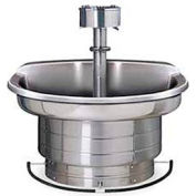 Bradley Wash Fountain, 36 In Wide, Semi Circular, Series WF2703, 3 Person