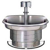 Bradley Wash Fountain, 54 In Wide, Semi Circular, Series WF2704, 4 Person Sink