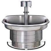 Bradley Corp® Wash Fountain, 54 In Wide, Semi Circular, Series WF2704, 4 Person