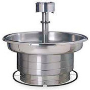 Bradley Wash Fountian, 36 In Wide, Circular, Series WF2705, 5 Person