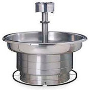 Bradley Wash Fountain, 36 In Wide, Circular, Series WF2706, 5 Person