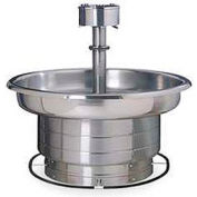 Bradley Corp® Wash Fountain, 54 In Wide, Series WF2708, 8 Person