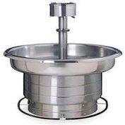 Bradley Wash Fountain, 54 In Wide, Circular, Series WF2708, 8 Person
