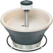Bradley Corp® Wash Fountain, 36 In Wide, Circular, Series WF2805, 5 Person