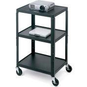 Bretford® Open Base Adjustable AV Projector Cart