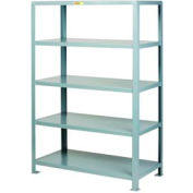 Little Giant®  Welded Steel Shelving, 5 Shelves, 24 x 60