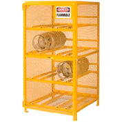 Little Giant®  Gas Cylinder Cabinet, Horizontal, 72 x 38 x 70