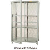Little Giant®  All Welded Storage Locker, 1 Center Shelf, 36 x 60