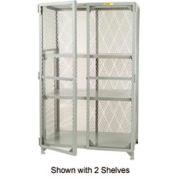 Little Giant®  All Welded Storage Locker, 1 Adj. Center Shelf, 30 x 48