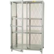 Little Giant®  All Welded Storage Locker, 2 Center Shelves, 24 x 48