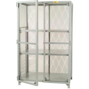 Little Giant®  All Welded Storage Locker, 2 Adj. Center Shelves, 24 x 48