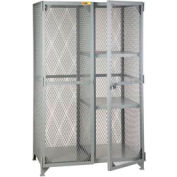 Little Giant®  Combination Cabinet Locker with 2 Half Shelves, 24 x 60