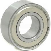 BL Double Row Angular Contact Bearings 5206-ZZ, 2 Metal Shields, Medium Duty, 30mm Bore, 62mm OD