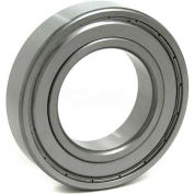 BL Deep Groove Ball Bearings (Metric) 6010-ZZ, 2 Metal Shields, Light Duty, 50mm Bore, 80mm OD