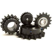"""TRITAN Sprocket D40BS15HX11/8, Double, 1/2"""" Pitch, 1 1/8"""" Finished Bore, 15 Teeth"""