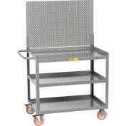 "Little Giant 3MW-2436-5TL-LP 36""W x 24""D Mobile Workstation, 3 Shelves"